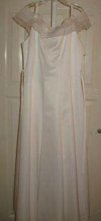 Biscotti White Flower Wedding Portrait Dress 16 Girls
