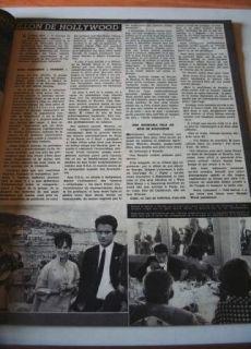 1962 Dahlia Lavi Pier Angeli Natalie Wood Deneuve Ronet