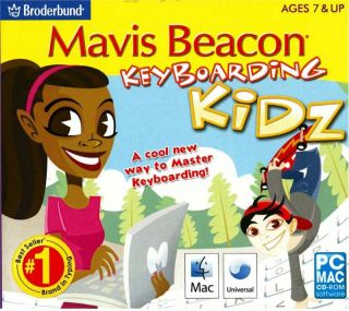 Kids Computer PC Software Program Mavis Beacon Keyboarding Kidz