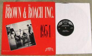 Clifford Brown Max Roach Inc 1954 Near Mint 70s Trip Jazz LP