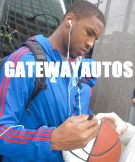 Signed Autograph Auto Thomas Robinson Kansas KU Jayhawks NCAA