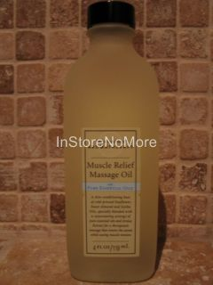 Bath Body Works Aromatherapy Massage Oil Super RARE