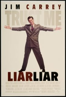 Liar Liar 1997 Original U s One Sheet Movie Poster