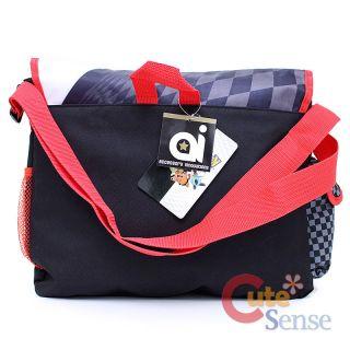 Pokemon School Messenger Bag Black & White Diaper Shoulder Cross Body
