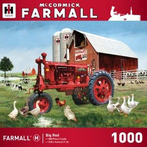 Masterpieces Farmall Big Red Tractor Jigsaw Puzzle 1000 PC