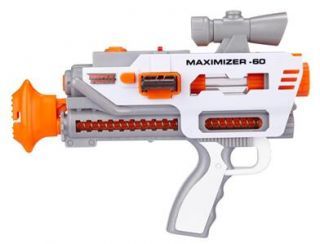 Max Force Maximizer 60 Toy Pistol Factory SEALED Ships Worldwide