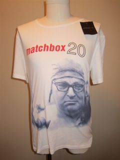 John Varvatos Matchbox Twenty Light Salt T Shirt All Sizes