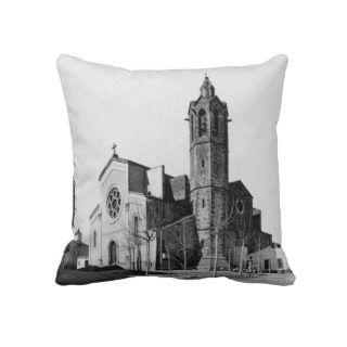 Esgésia   Sant Andreu of the Boat Throw Pillows