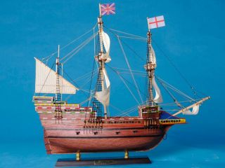 Mayflower 20 Wooden Tall Model SHIP Musuem Quality