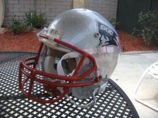 New England Patriots Full Size Schutt Football Helmet Youth