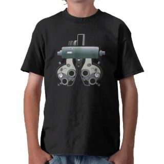 Doctor 7 Optometry Optometrist Eye Exam Tshirts