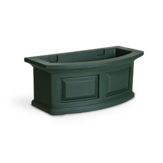 New Mayne Nantucket 24 Weatherproof Window Box Outdoor Flower Planter