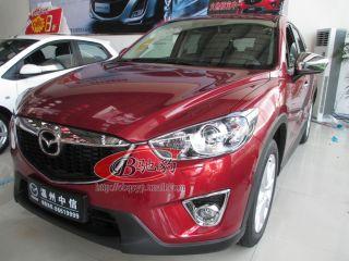 Mazda CX 5 CX5 2012 2013 Chrome Front Grille Centre Grille Cover Trim