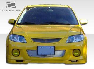 2001 2003 Mazda Protege Duraflex Speedzone Front Lip Spoiler Body Kit