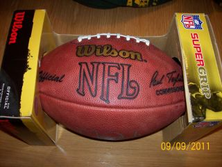 Matt Leinart Auto Signed Pro NFL Football UDA Game Day Football