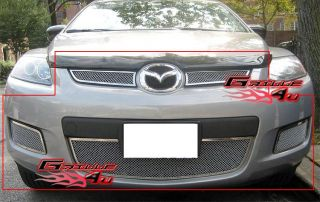 07 09 Mazda CX7 CX 7 Stainless Steel Mesh Grille Combo