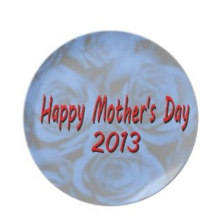 Mothers Day 2013 Party Plate