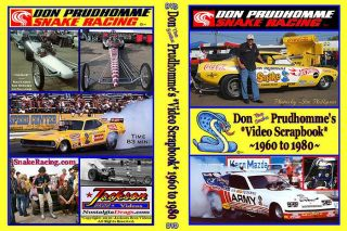 Prudhomme Tom Mongoose McEwen oldies Drag Racing 2 DVD Set