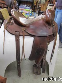 Jack McCloskey Saddle Co Custom Made Mule Trail Saddle