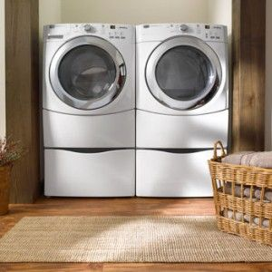 Maytag 950 Steam 3 9 CU ft Washer 7 2 CU ft Electric Dryer Pedestals