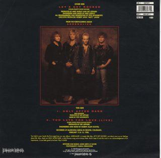 Def Leppard Lets Get Rocked 12 Vinyl Picture Disc Single Excellent