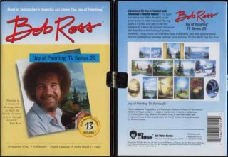New Bob Ross Joy of Oil Painting TV Series 29 DVD Art