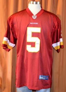 Washington Redskins Donovan McNabb 5 Reebok on Field Football Jersey