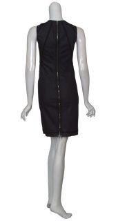 Alexander McQueen McQ Denim Fitted Shift Dress 8 New