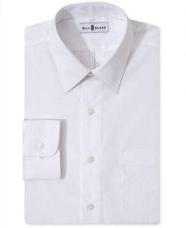 Bill Blass Dress Shirt, Solid Long Sleeve   Mens Dress Shirts