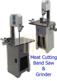 Butcher Meat Cutting Cutter Band Saw Mincer Grinder Sausage Stuffer