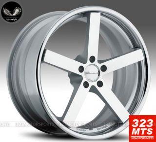 Giovanna Mecca Silver Rims 20 Mercedes Benz E63 E320 E300 E350 E550