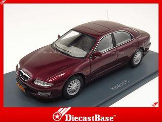 44920 Neo Mazda Xedos 6 1992 Metallic Red Japan Resin Road Car 1 43
