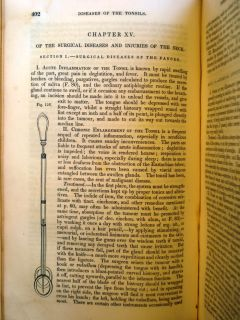 1860 Old Antique Civil War Medical Book Surgery Medicine Union Surgeon