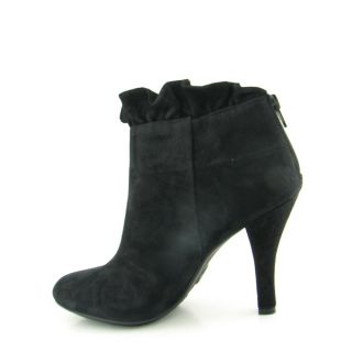 Me Too Juju Boots Booties Ankle Shoes Black Womens Sz