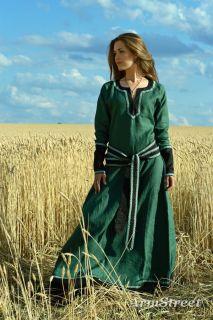 Medieval Lady Tunic Dress Garb SCA Ren Fairy