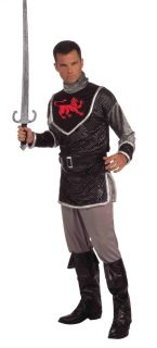 Medieval Knight Adult Male Costume New