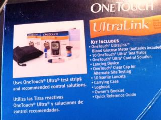 Minimed Medtronic One Touch Ultralink Blood Glucose Monitoring System