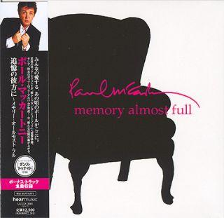 Paul McCartney Memory Almost Full CD Mini LP OBI