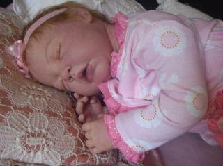 Custom Reborn Doll Camille by Anne Timmerman Little Darlins Nursery