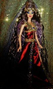 Greek Goddess Medea Sorceress Golden Fleece OOAK Barbie Doll Beauty