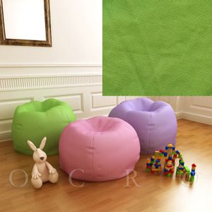 Pottery Barn Kids Green Anywhere Beanbag Slipcover Regular
