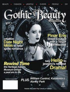 New Gothic Beauty Fashion Magazine Issue 32 2011 Goth