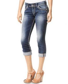 Celebrity Pink Jeans Juniors Jeans, Capri, White Wash