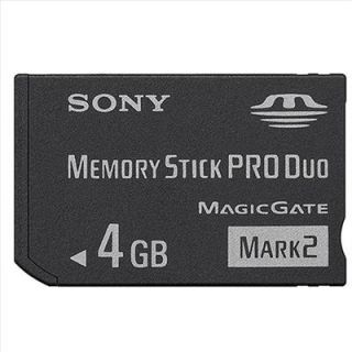4GB So NY Memory Stick HD Pro Duo MS Card 4 GB PSP New