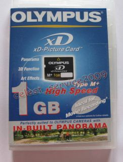 1GB 1g XD Memory Card Type M XD Picture Card Olympus Fuji FE 230 FE