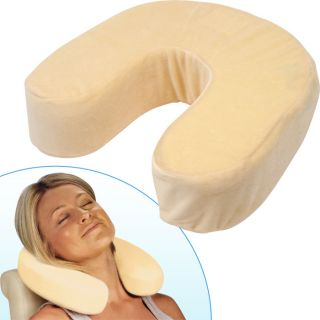 Remedy Memory Foam Neck Support Travel Pillow New