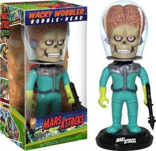 Martian Mars Attacks Movie Wacky Wobbler Bobble Head New Tim Burton