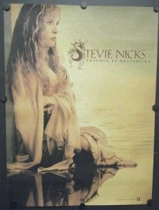 Stevie Nicks Promo Poster Trouble in Shangri La 2001 Fleetwood Mac