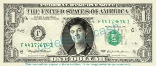 Dr oz Dollar Bill Doctor Mehmet oz Mint Real $$$