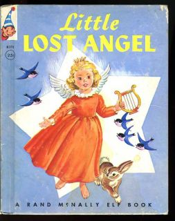 Vintage 1953 Little Lost Angel Rand McNally Elf Book